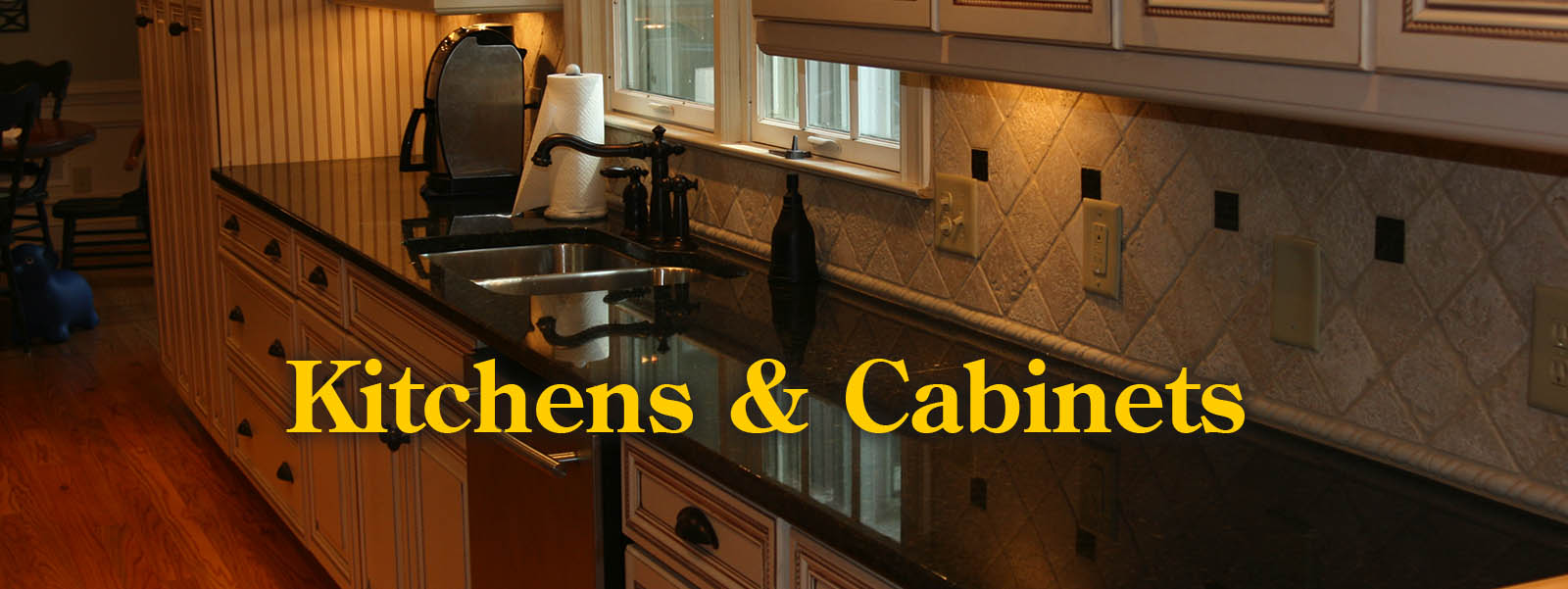 Kitchen & cabinetry remodeling