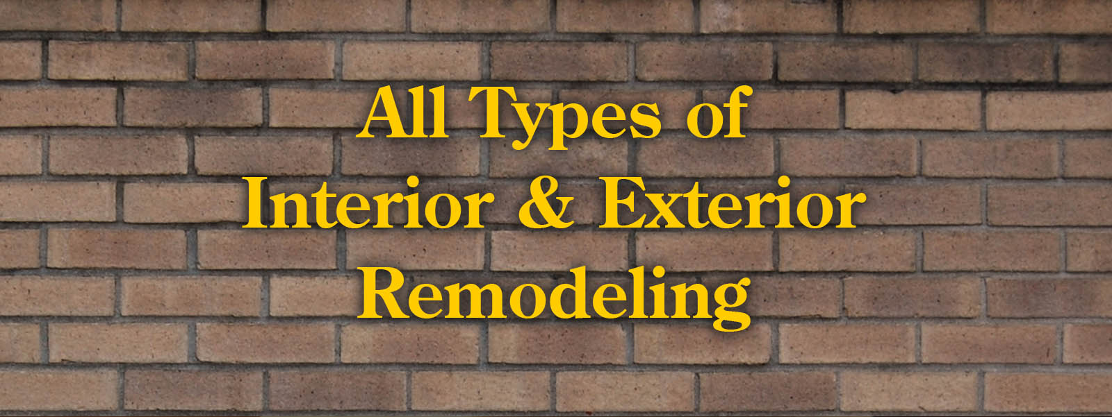 All types of remodeling and home renovation throughout Atlanta, Decatur, Gwinnett County, Dekalb County and surrounding areas.